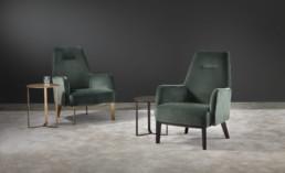 Hemelaer Interior Marelli Clipper High Armchairs