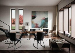 Hemelaer-Interior-interieur-in-Antwerpen-Wilisau-LineaBootsform Salsa Milieu