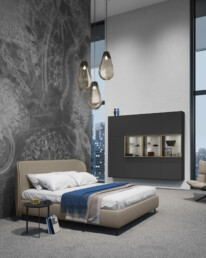 Hemelaer-Interior-interieur-in-Antwerpen-zeitlos vita haengeschrank luno bett t3 beistelltisch